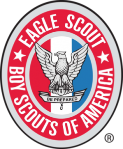 Earned the Boy Scouts of America Eagle Scout Award