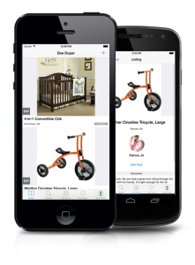 Dee Duper on iPhone and Android -- the marketplace for used kids goods